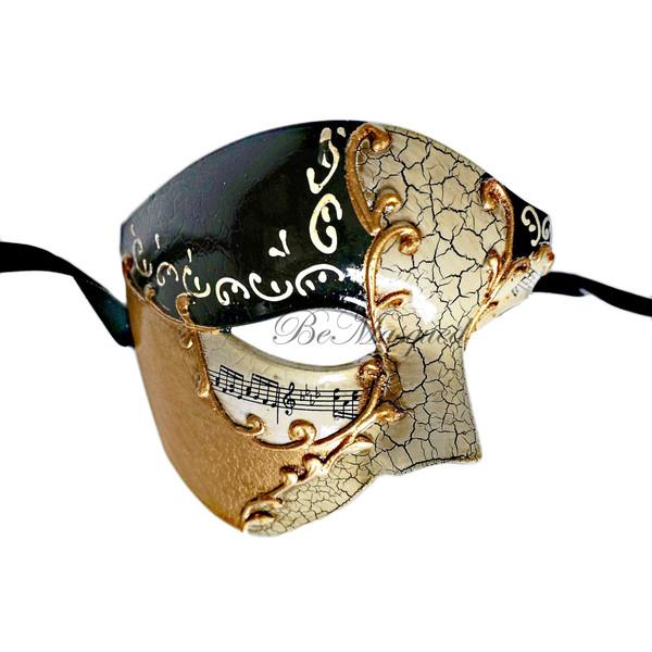 Venetian Phantom of the Opera Mask