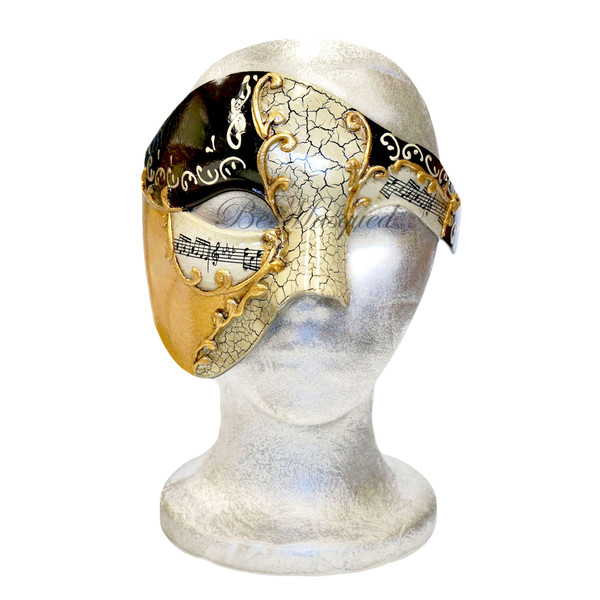Venetian Phantom of the Opera Mask