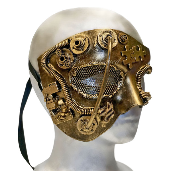 Steampunk Phantom of the Opera Mask