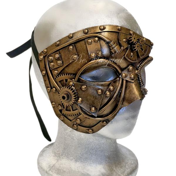 Steampunk Photon Mask