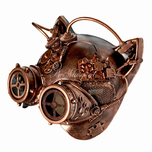 Steampunk Cat Mask