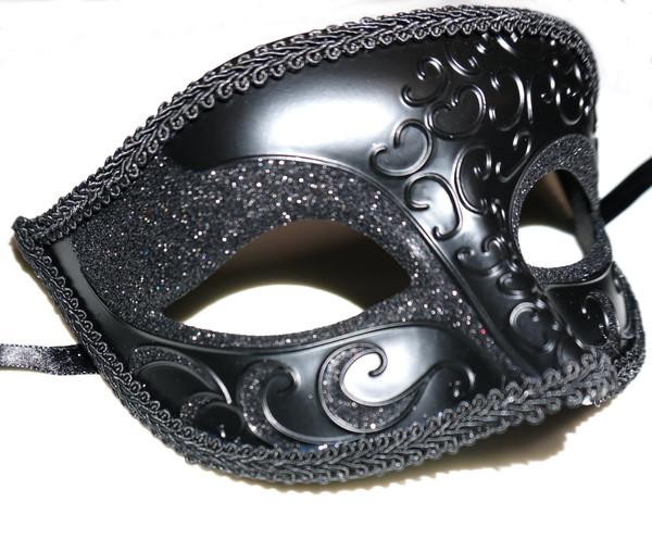 Venetian Eye Mask, Black
