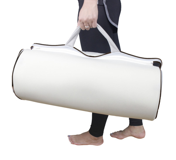 Carepeutic Yoga-Dynamic Air Traction Physiotherapy Mat, Gray, 9 Pound