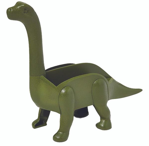 Unido Box Dinosaur Taco Holder - Kids Plastic Novelty Taco Plate - Army Green - Set of 4 -2 Triceratops, 2 Brontosaurus