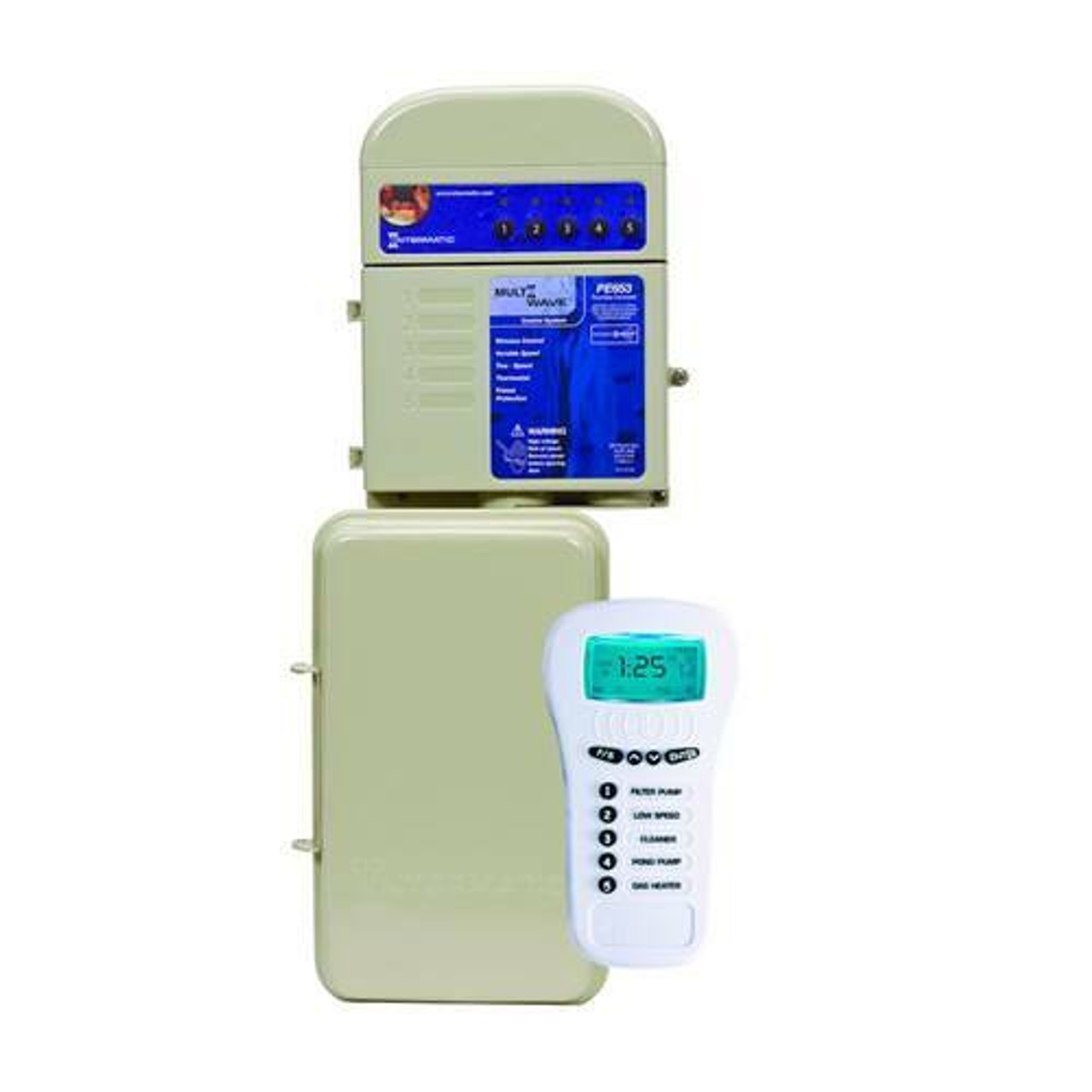 Intermatic MultiWave Wireless Control System with Timer; 120/240 VAC, 5 W