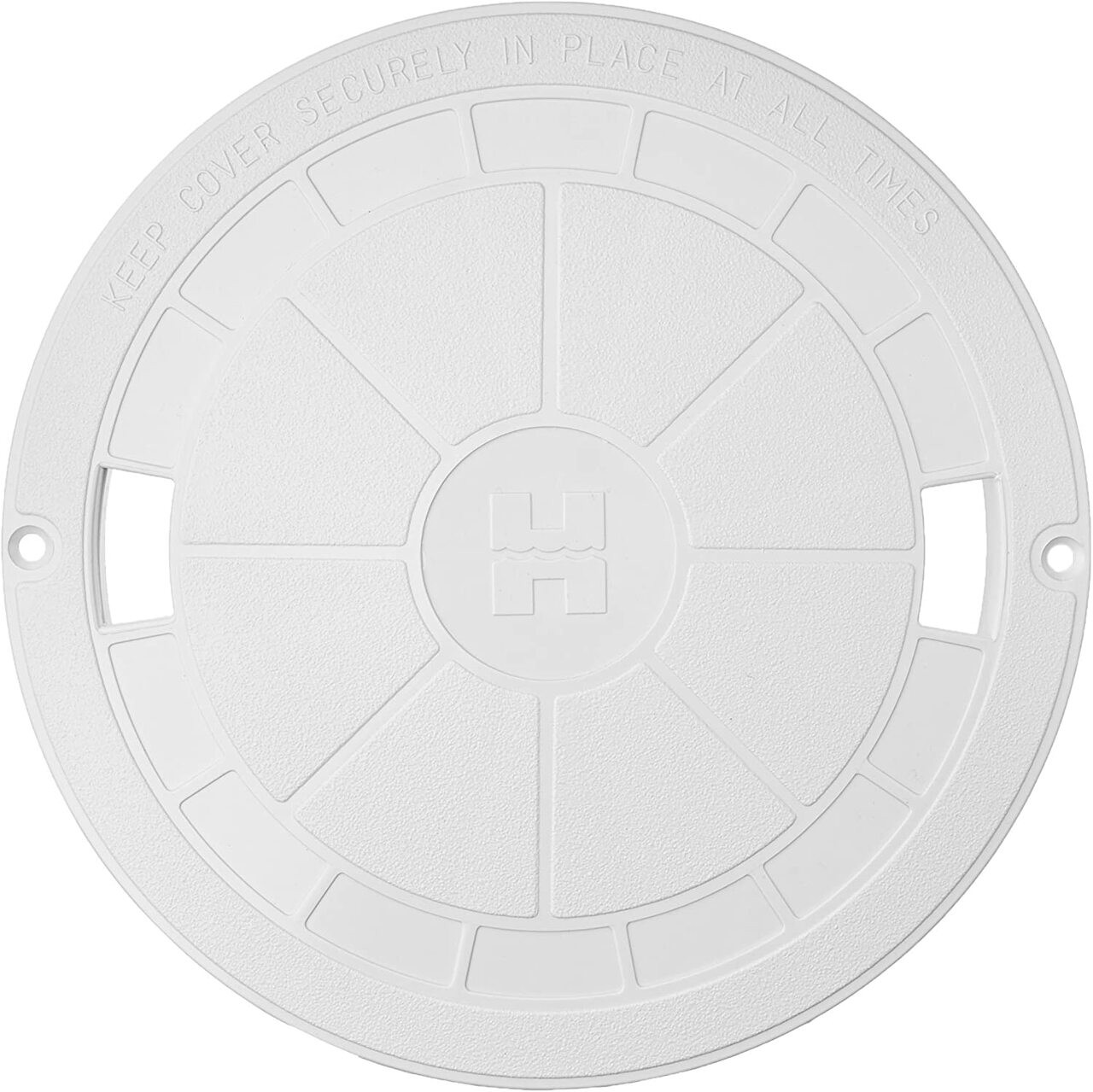 Replacement Skimmer Lid (White) for U3 and SPX1070C Skimmer; 9-7/8 Inch, White