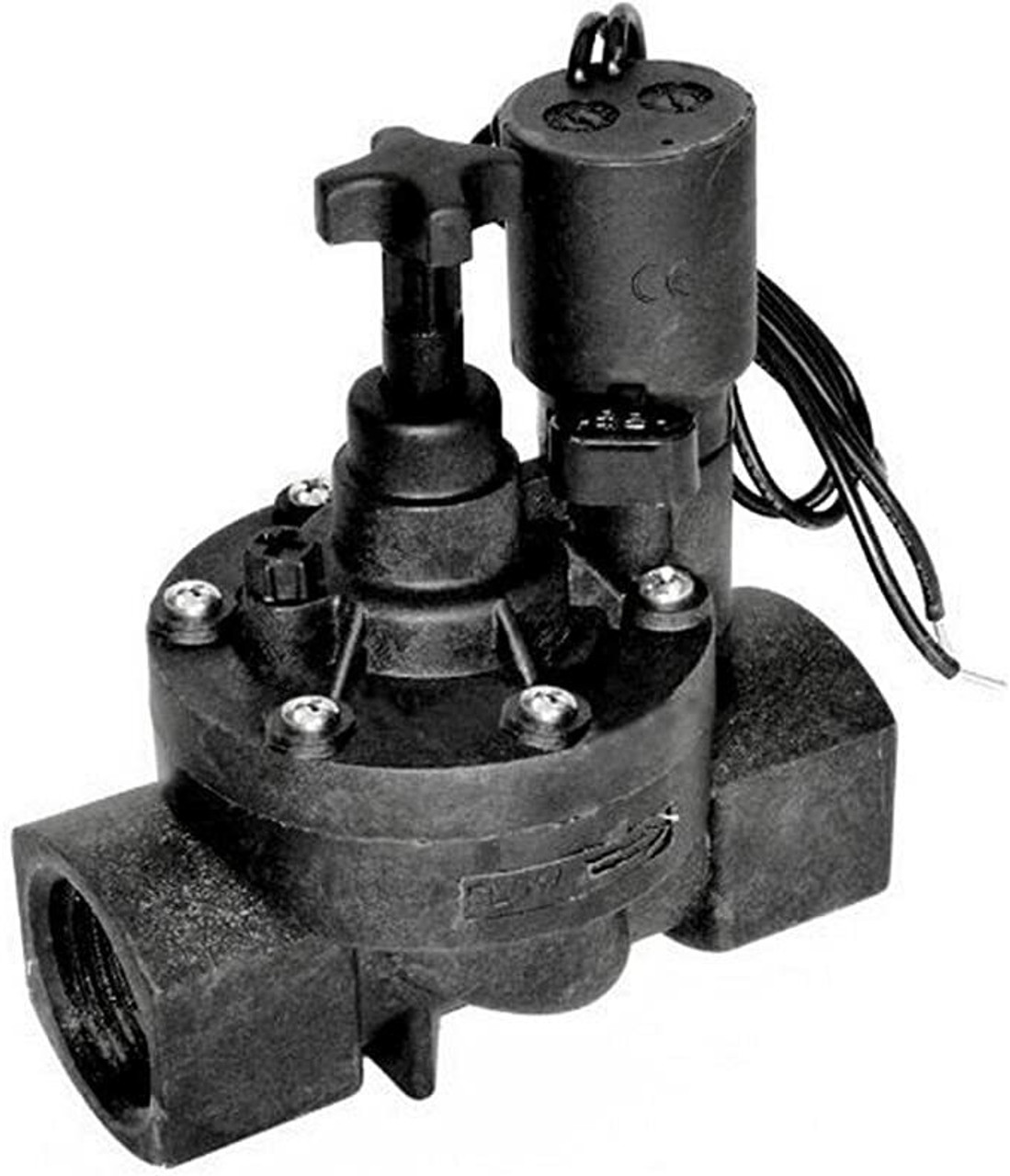 """Jandy Pro Series, Zodiac Pool Systems Inc, Levolor R-Kit 1"""" Plastic Valve, 24V Solenoid With Flow Control, Color: Gray, Size: 1"""""""