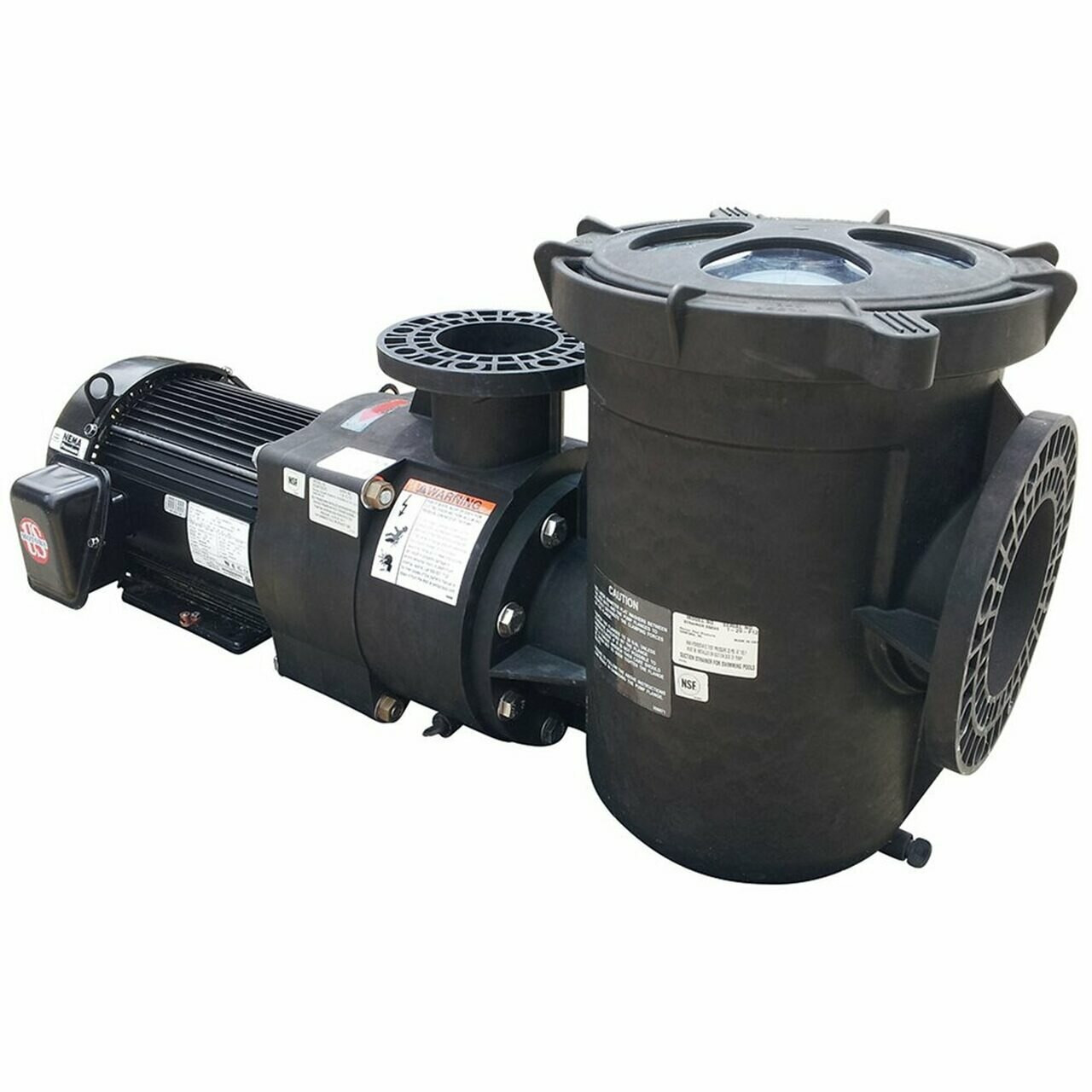 Pentair EQ Series 3-Phase Premium Efficient Commercial Pump with Strainer; 7.5 HP, 208-230/460 V, 20.1 - 18.3/9.1 A