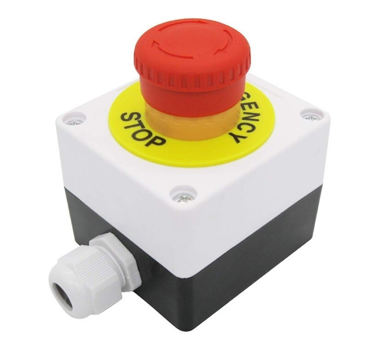 Red Mushroom Emergency Stop Push Button Switch
