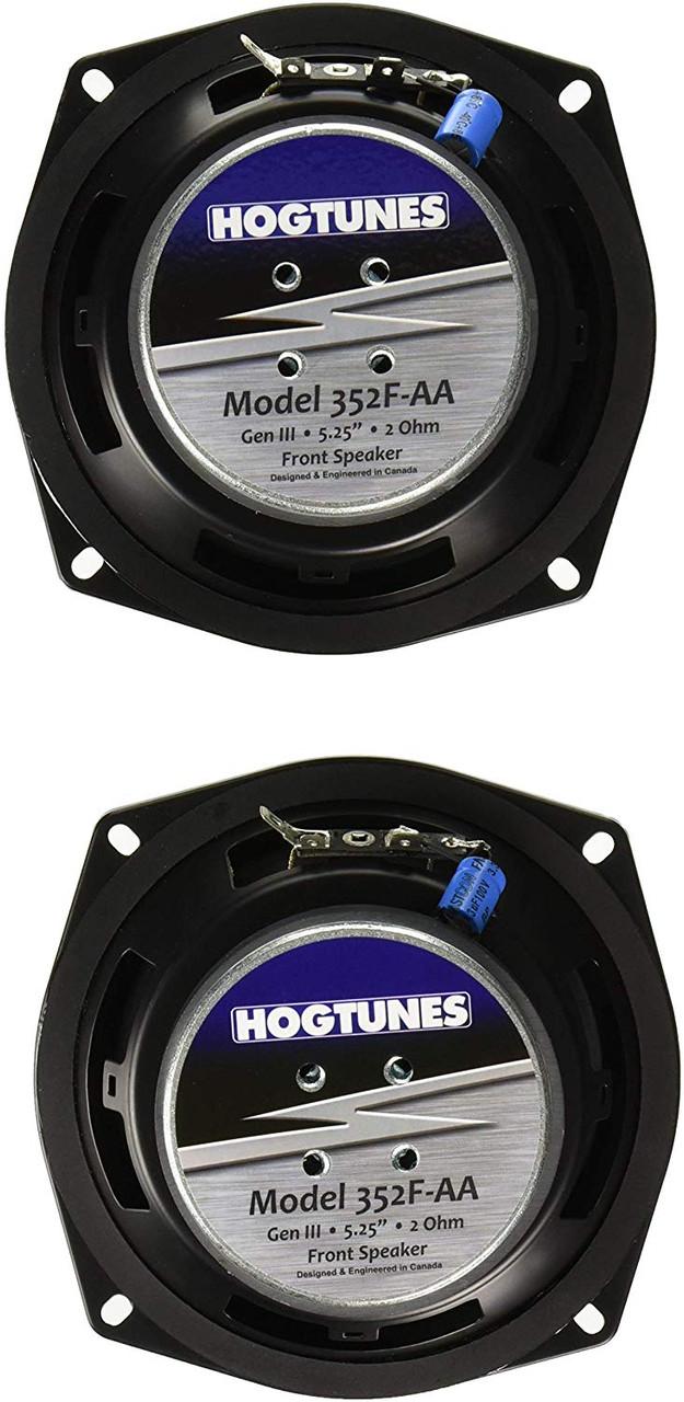 Hogtunes 3572-AA Gen3 5 x 7 Front Speakers for 2006-2013 Harley-Davidson FLTR Road Glide Models