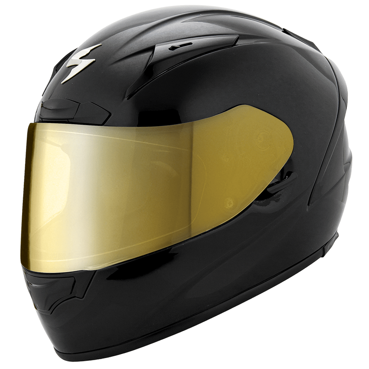 Scorpion EXO-R2000//EXO-R410 Face Shield Gold Mirrored