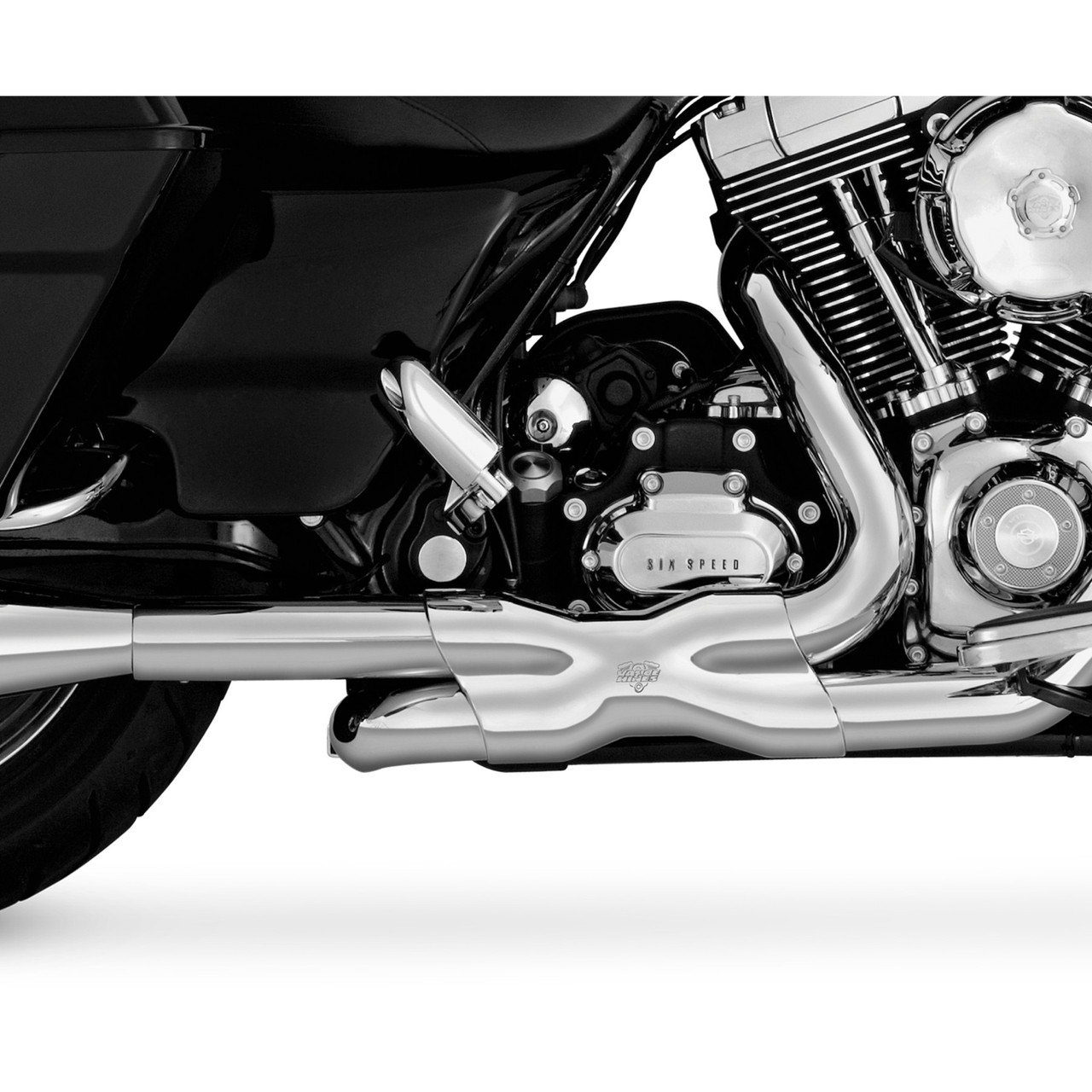 46752 Vance and Hines Dresser Duals Header Pipe for Harley Davidson 2009-2016 Touring