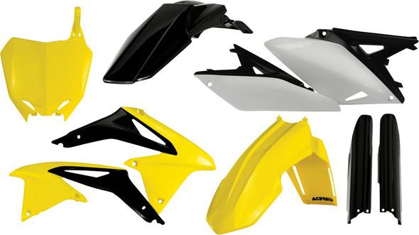 Acerbis Plastic Kit: 10-18 Suzuki RM-Z250
