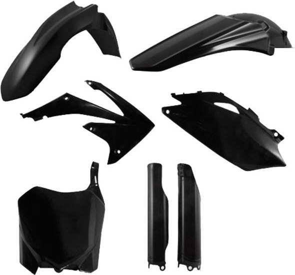 Acerbis Plastic Kit: 09-13 Honda CRF250R/CRF450R