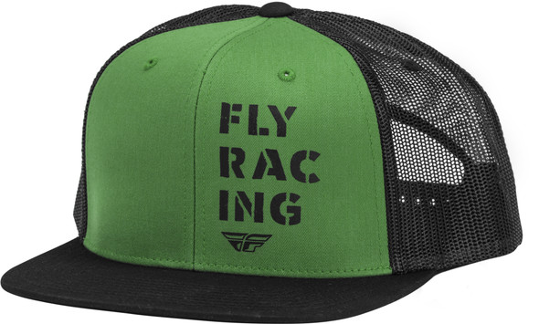 Fly Racing Military Hat