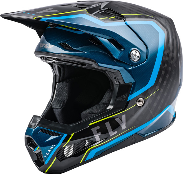 Fly Racing Formula Youth Helmet - Carbon Axon