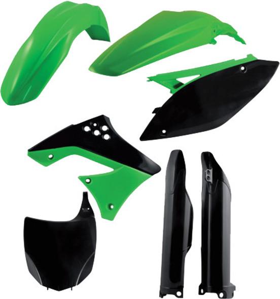 Acerbis Plastic Kit: 09-12 Kawasaki KX250F