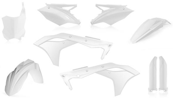 Acerbis Plastic Kit: 2017 Kawasaki KX250F