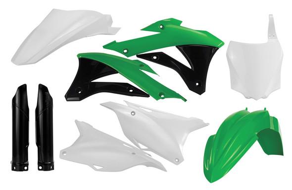 Acerbis Plastic Kit: 2014+ Kawasaki KX85/KX100