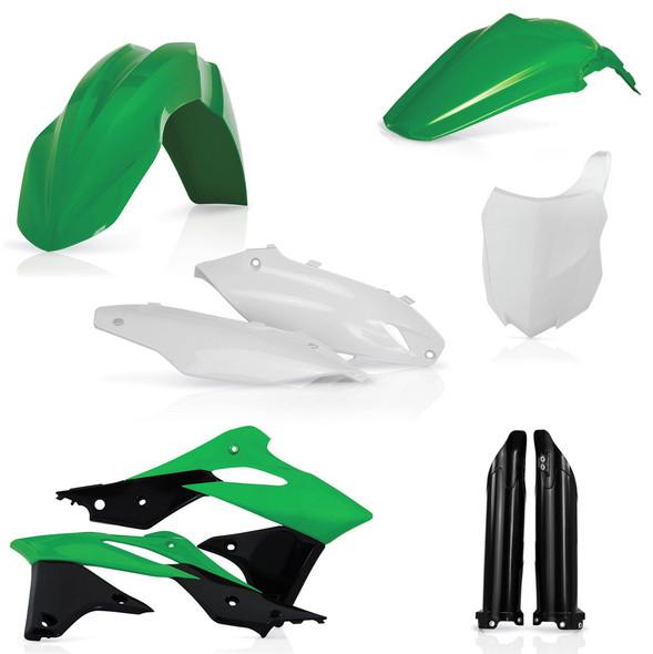 Acerbis Plastic Kit: 13-16 Kawasaki KX250F