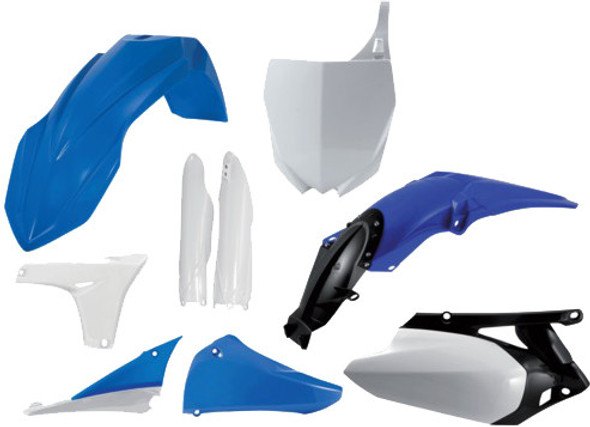 Acerbis Plastic Kit: 10-13 Yamaha YZ450F