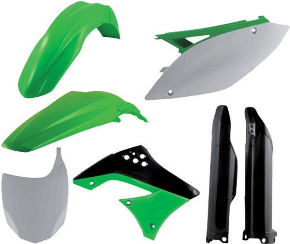 Acerbis Plastic Kit: 09-11 Kawasaki KX450F
