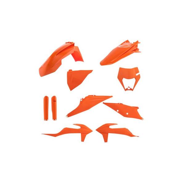 Acerbis Plastic Kit: 2020+ KTM 150cc to 500cc (XC-W/XCF-W/EXC-F Models)