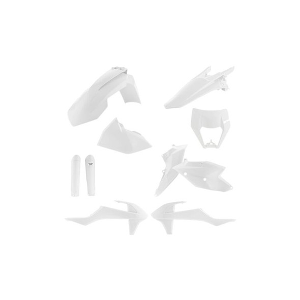 Acerbis Plastic Kit: 17-19 KTM 150cc to 500cc (XC-W/EXC-F Models)