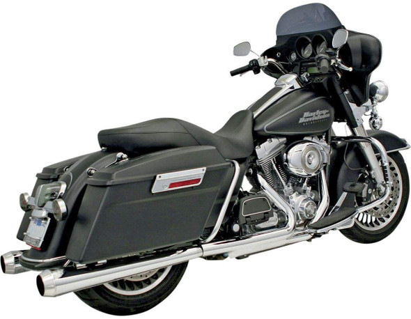 "Bassani 4"" Slip-On Mufflers: 1995+ Touring Models"