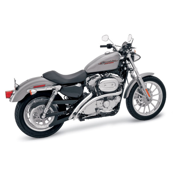 Bassani Radial Sweepers Exhaust: 07-13 Harley Sportster/Softail Models