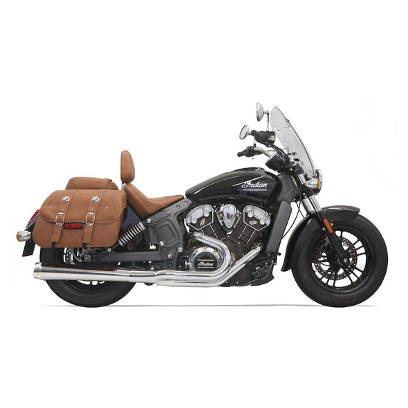Bassani Road Rage 2-Into-1 Exhaust: 2015+ Scout Models