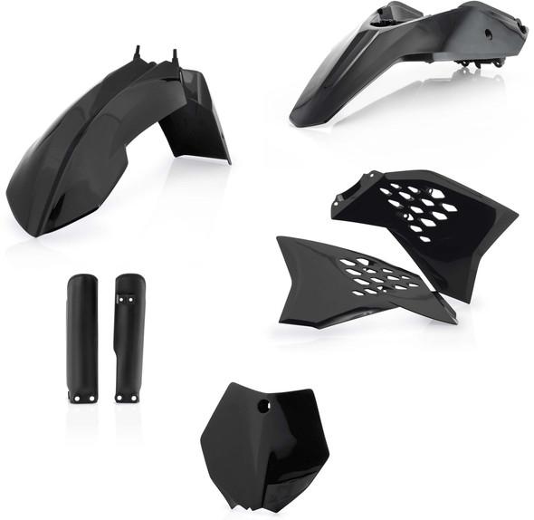 Acerbis Plastic Kit: 09-11 KTM 65SX