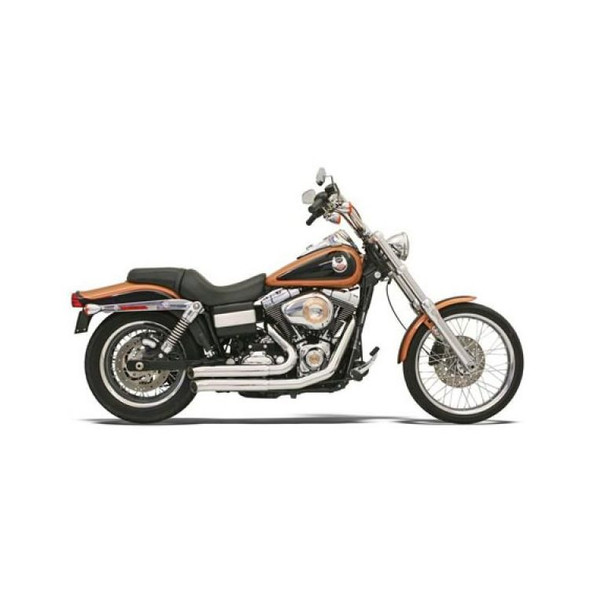 Bassani FireSweep Exhaust: 06-17 Dyna Models