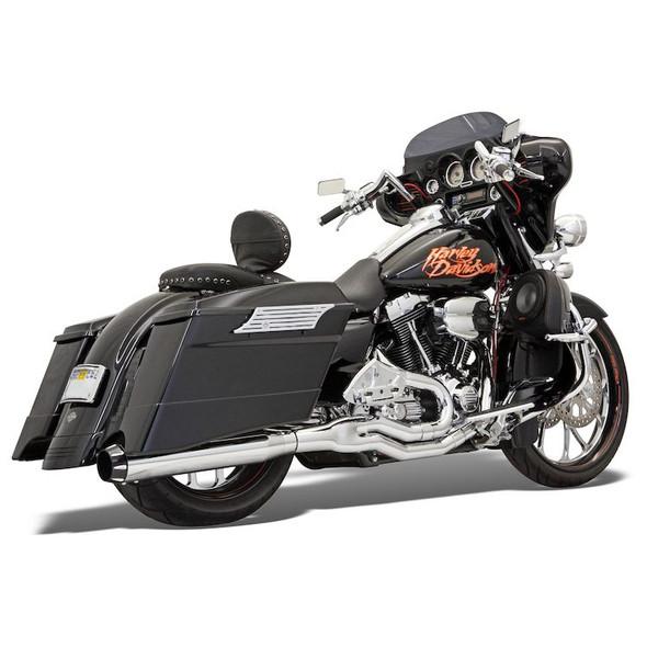 Bassani Road Rage Mega Power Exhaust: 95-16 Touring Models