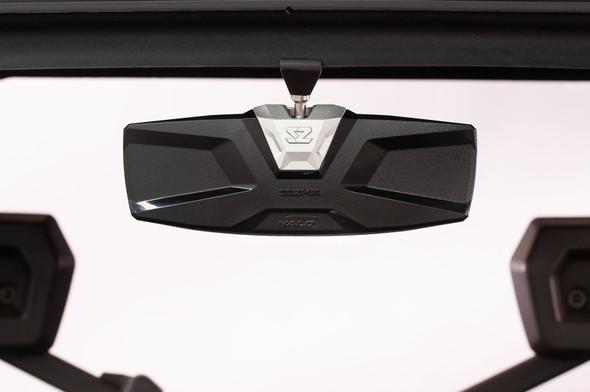 Seizmik Halo-RA Cast Rearview Mirror with Cast Aluminum Bezel - Polaris Pro-Fit Ranger (Full and Midsize)