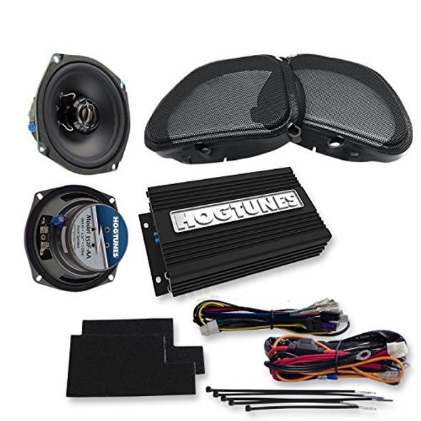 Hogtunes Amplified Fairing Lower Speaker Kit: 99-13 H-D Electra Glide Models - FLSK REV-AA