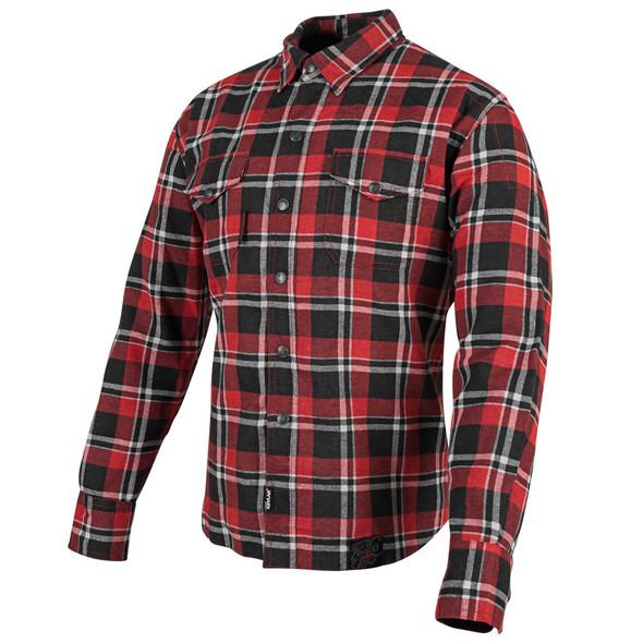 Speed and Strength: Black Nine Reinforced Moto Shirt