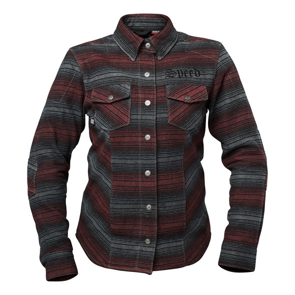 Speed and Strength Brat Women's Armored Flannel Shirt