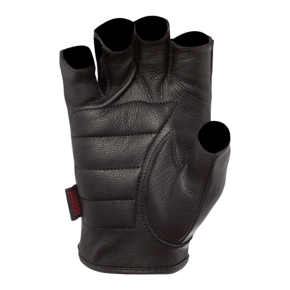 Speed and Strength Half Nelson Fingerless Leather Gloves