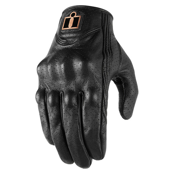 Icon Pursuit Classic Perforated Leather Gloves