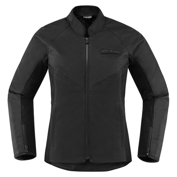Icon Hooligan Woman's Perforated Textile Jacket