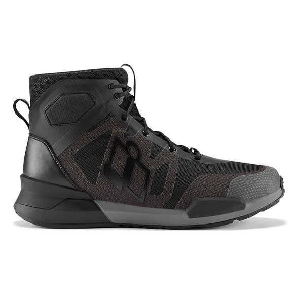 Icon Hooligan Riding Shoes - Black