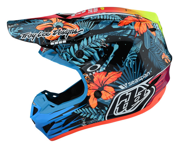 Troy Lee Designs SE4 Composite Helmet - Cosmic Jungle