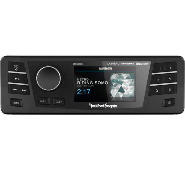 Rockford Fosgate PMX Factory Replacement Radio: 98-13 Harley-Davidson Touring Models