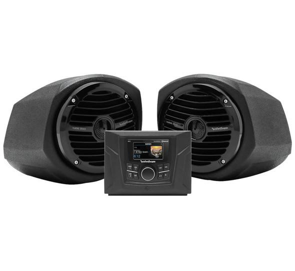 Rockford Fosgate Stereo kits: 2016+ Polaris GENERAL models