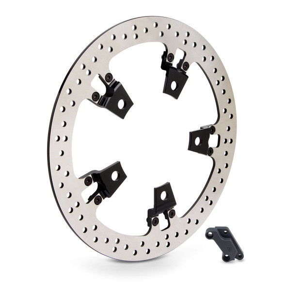 "Arlen Ness 14"" Big Brake Front Rotor Kits - 2014+ Touring Models with Spoke Mounted Rotors"