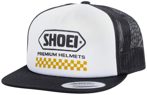 Shoei Snapback Hat - Checkers