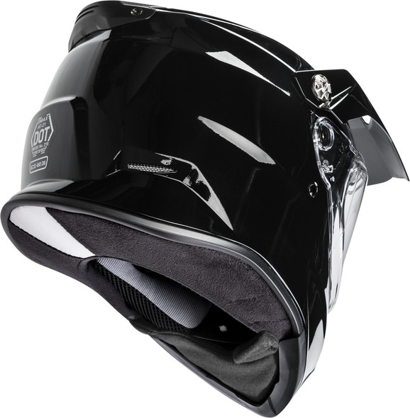GMAX AT-21S Helmet - Solid Colors w/ Dual Lens Shield