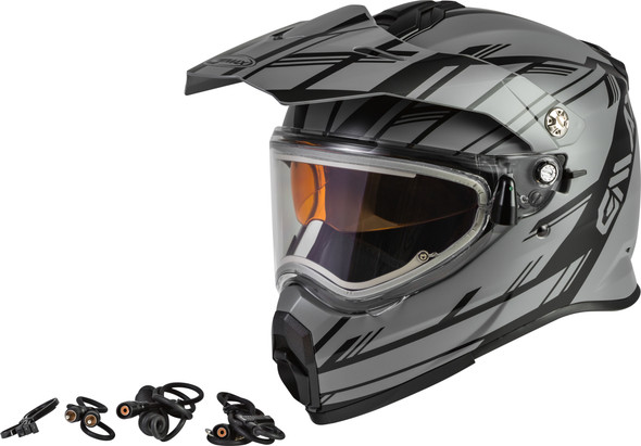 GMAX AT-21S Helmet - Epic w/ Electric Shield