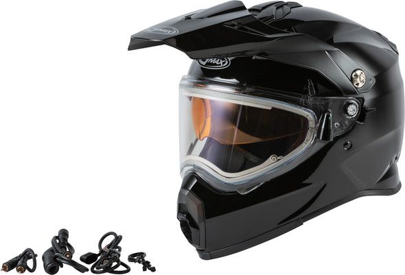 GMAX AT-21S Helmet - Solid Colors w/ Electric Shield